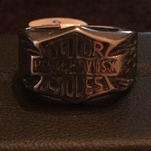 Harley Davidson Bar & Shield style Ring.